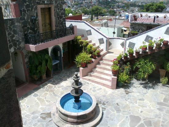 Hotel Posada de las Monjas: Vista desde el cuarto, ultimo nivel