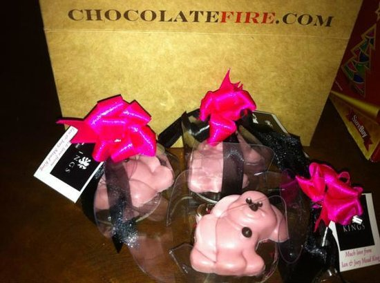 Chocolate Fire : Give-aways not to be forgotten