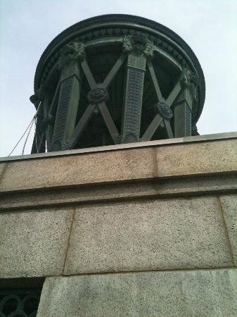 Perry's Victory & International Peace Memorial: The dome at the top of the tower.