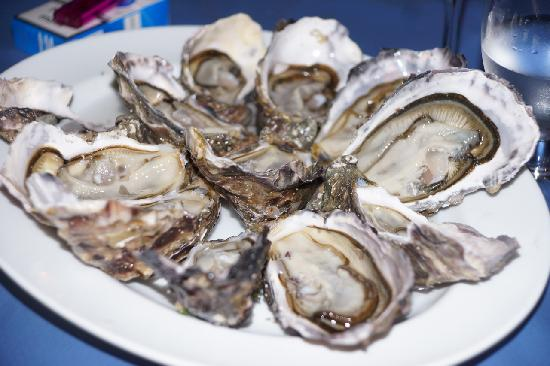 El Perro Negro: Fresh Oysters from France