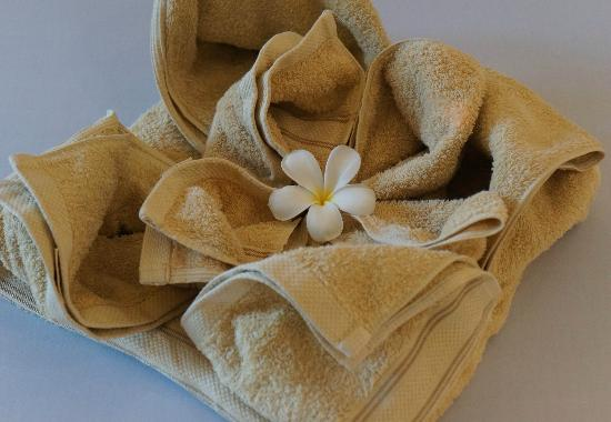 Battambang Resort : Bath Towels upon arrival