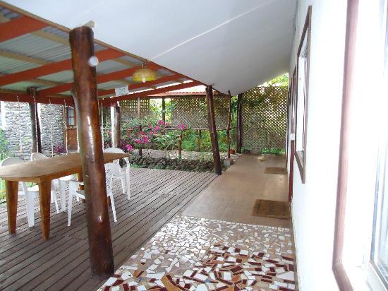 Cabanas Manatea: Pasillo