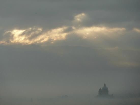 Hotel Il Palazzo: Foto scattata dalla camera (con zoom : ))