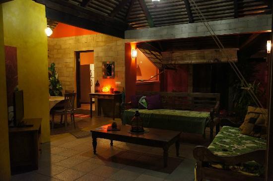 Villa Mitirapa: Lounge area