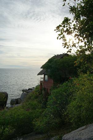 كوه تاو كابانا ريزورت: Vista dal bungalow ocean view 