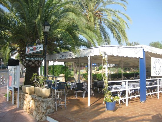 Churchills Restaurant: Churchill's restaurant, Cala d'Or Marina