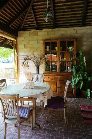Villa Mitirapa: Dining area