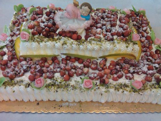 Antica Pasticceria Salamone: torta fragoline
