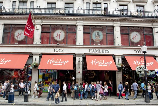 ‪Hamleys London - Regent Street‬
