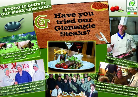 OD's Restaurant : Our Steaks