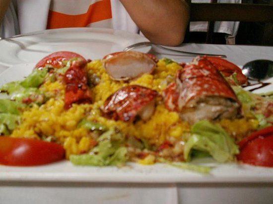 Ribadesella, España: Ensalada de bogavante