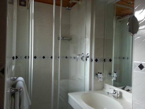 Adria Hotel: Small shower door