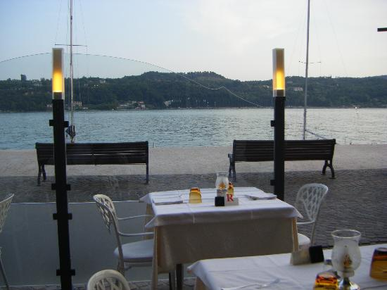 Hotel Duomo Salo: View from our dining table
