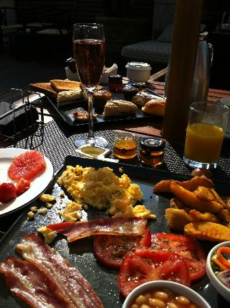 The Hot Part Of The Breakfast Picture Of Terraza La