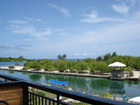 Barefoot Cay: View from studio.