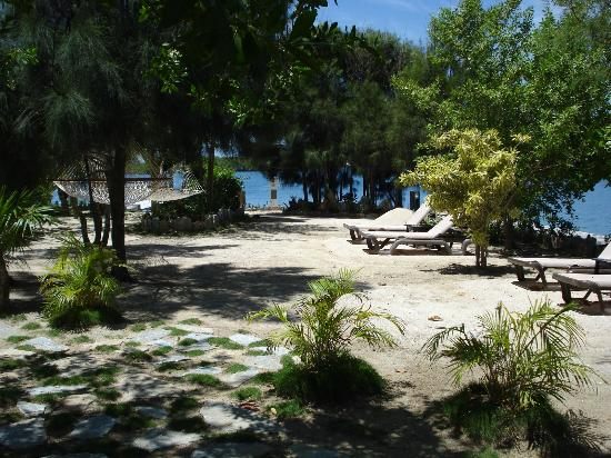 Barefoot Cay Resort: Island grounds.