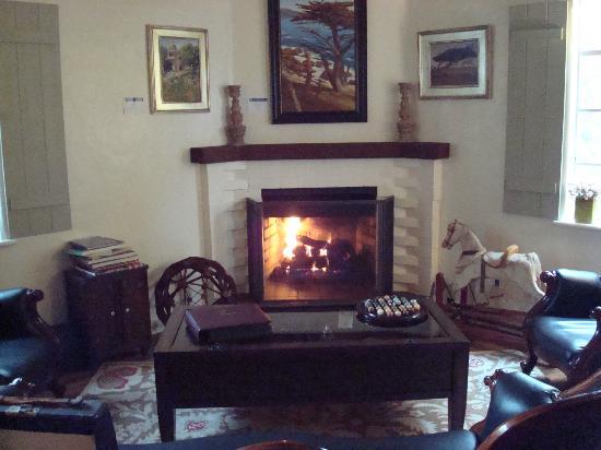 Vagabond's House Inn: Lobby
