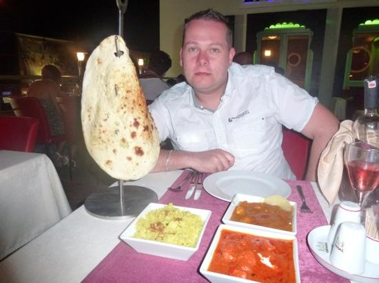 The Hubby With The Food Picture Of The Taj Mahal