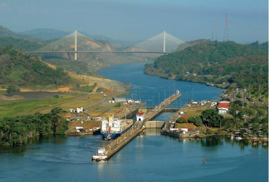 سنترال هوتل كازينو آند سبا: Canal de Panamá - Exclusas de Miraflores