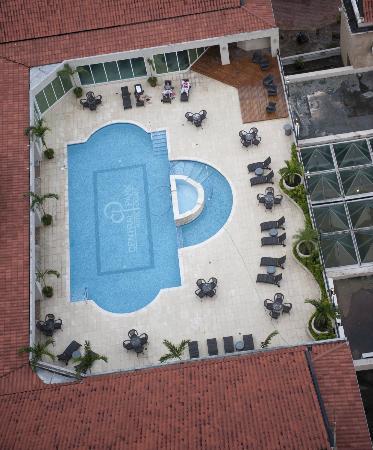 Central Park Hotel: Área Social - Vista desde Habitacion