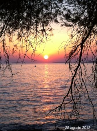 Camping Cikat: Tramonto da una piazzola premium