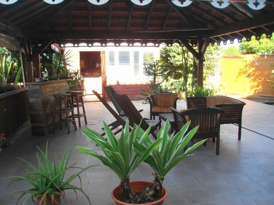La Villa Sapotille: Le carbet