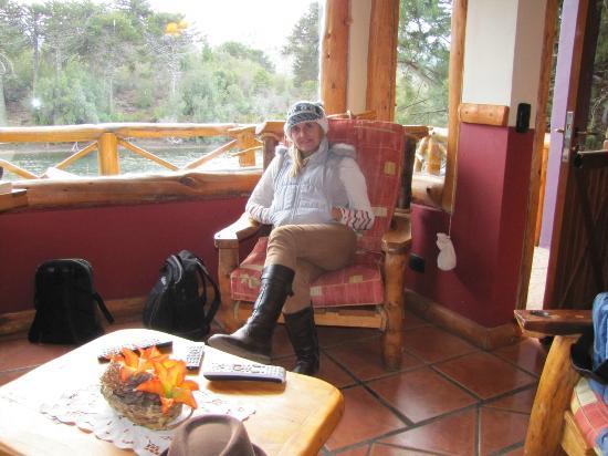 Cabanas Costa Bonita: desde el interior, terraza y lago