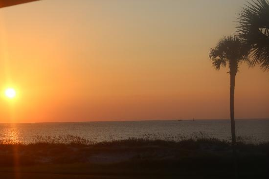 Days Inn & Suites Jekyll Island: Sunrise Sept. 3, 2012