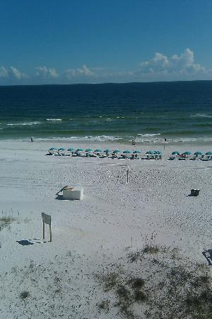 Best Western Ft. Walton Beachfront: View from Room 607