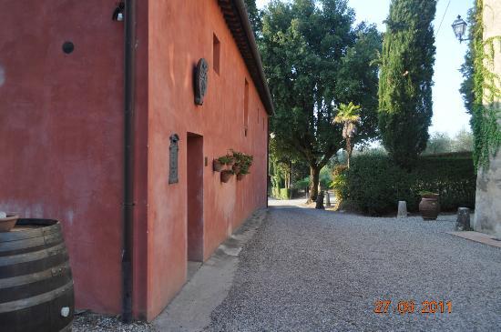 Agriturismo Castel di Pugna: lugar donde se catan los vinos