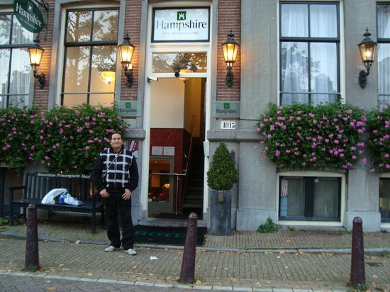 Prinsengracht Hotel: Fachada do Hampshire inn - Amsterdam