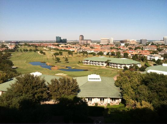 Four Seasons Resort and Club Dallas at Las Colinas: view from room 775 of the golf course
