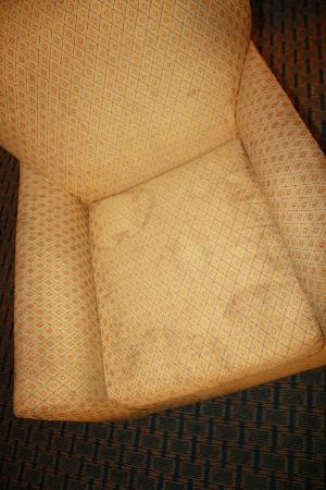 Motel 6 Lake Park: filthy furniture