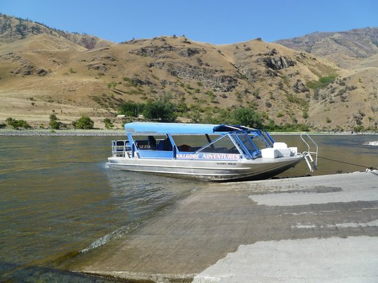 White Bird, ID: The Upper Boat Landing - Snake River - Kilgore Tours