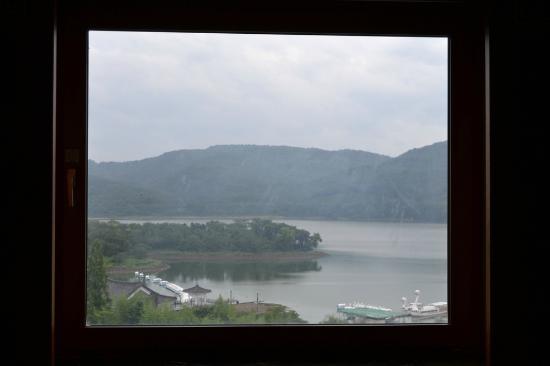 Commodore Hotel Gyeongju : View from Commodore Hotel