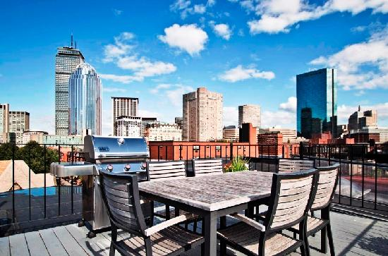 The Boston Christopher: Roof Deck