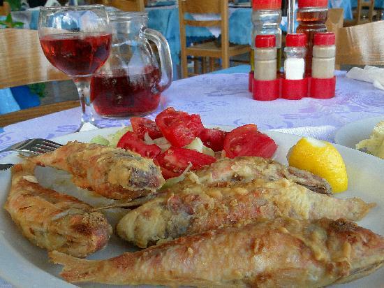 Taverna Tarantella: Красная кефаль