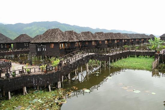 Myanmar Treasure Inle Lake: Vista delle camere