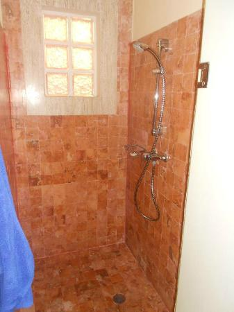 Grand Palladium Riviera Resort & Spa: The shower in our suite. Huge! And we had an enormous whirlpool tub.