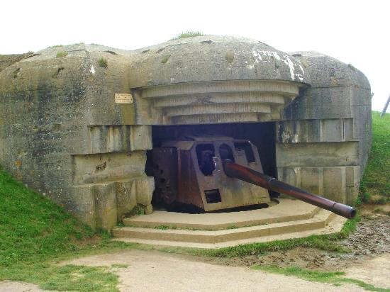 Longues Battery: Vista exterior