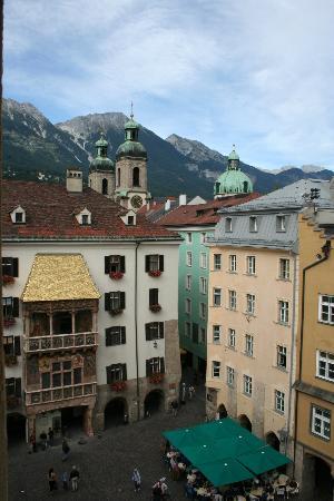 Hotel Restaurant Weinhaus Happ: View from room