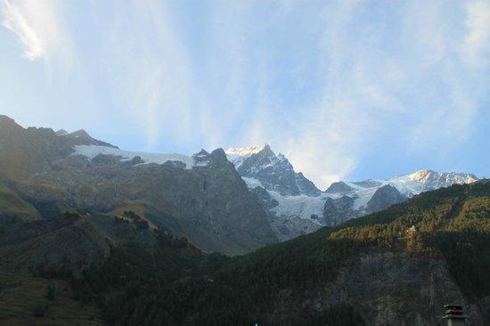Panoramic Village (Chalets de la Meije): Udsigten fra lejeligheden