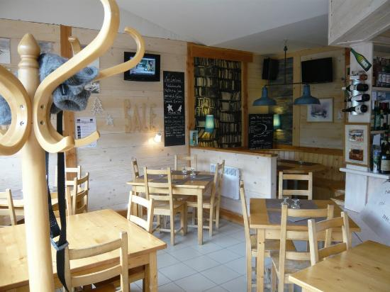 Sucré Salé : la salle de restaurant