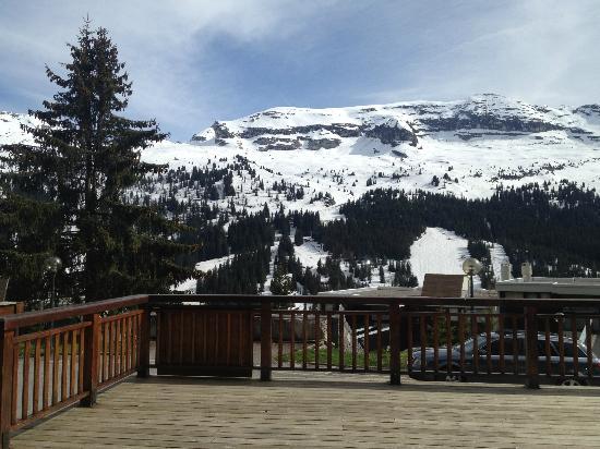 Sucré Salé : la vue de la terrasse
