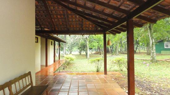 Iguassu Eco Hostel: From the reception door