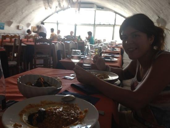 Restaurante El Pescadito: arroz caldoso