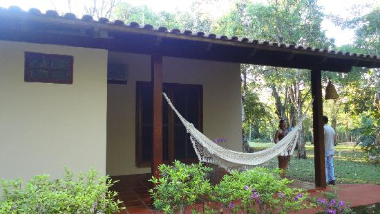 Iguassu Eco Hostel: Our Room from outside