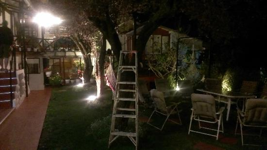 Hostal Tika Wasi: the little garden
