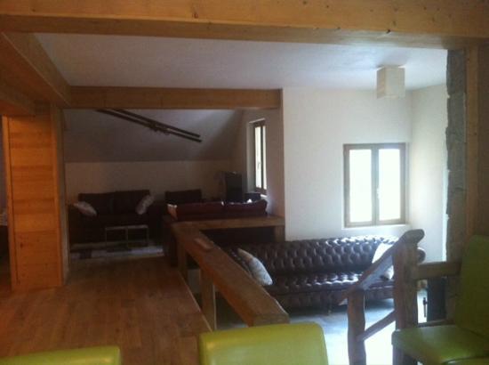 Chalet Morville : Living area