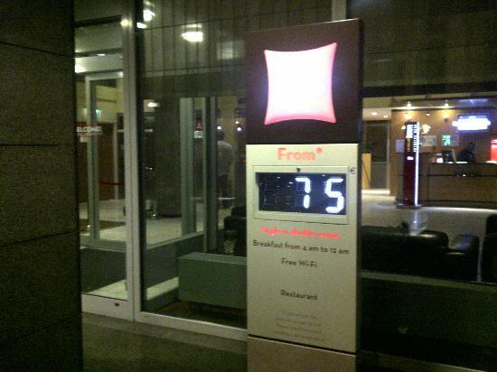 Ibis Den Haag City Centre: ホテルは町の中心部にもかかわらず静かです